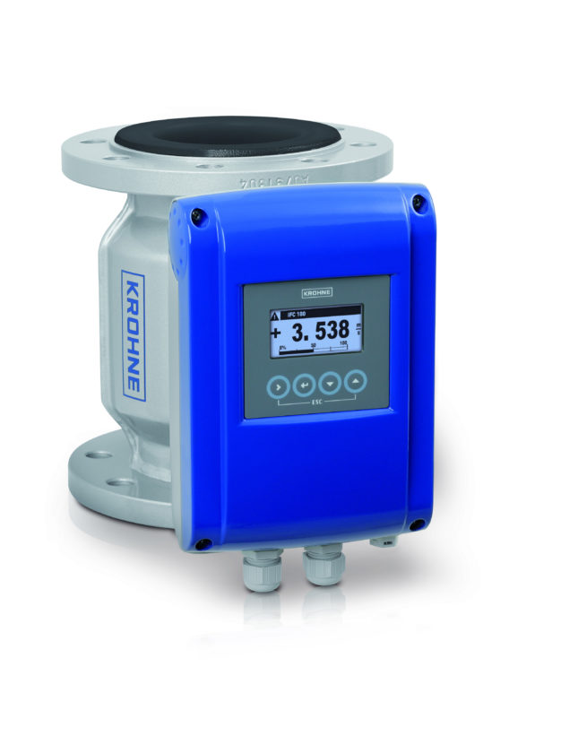 OPTIFLUX 2100 C water kopie