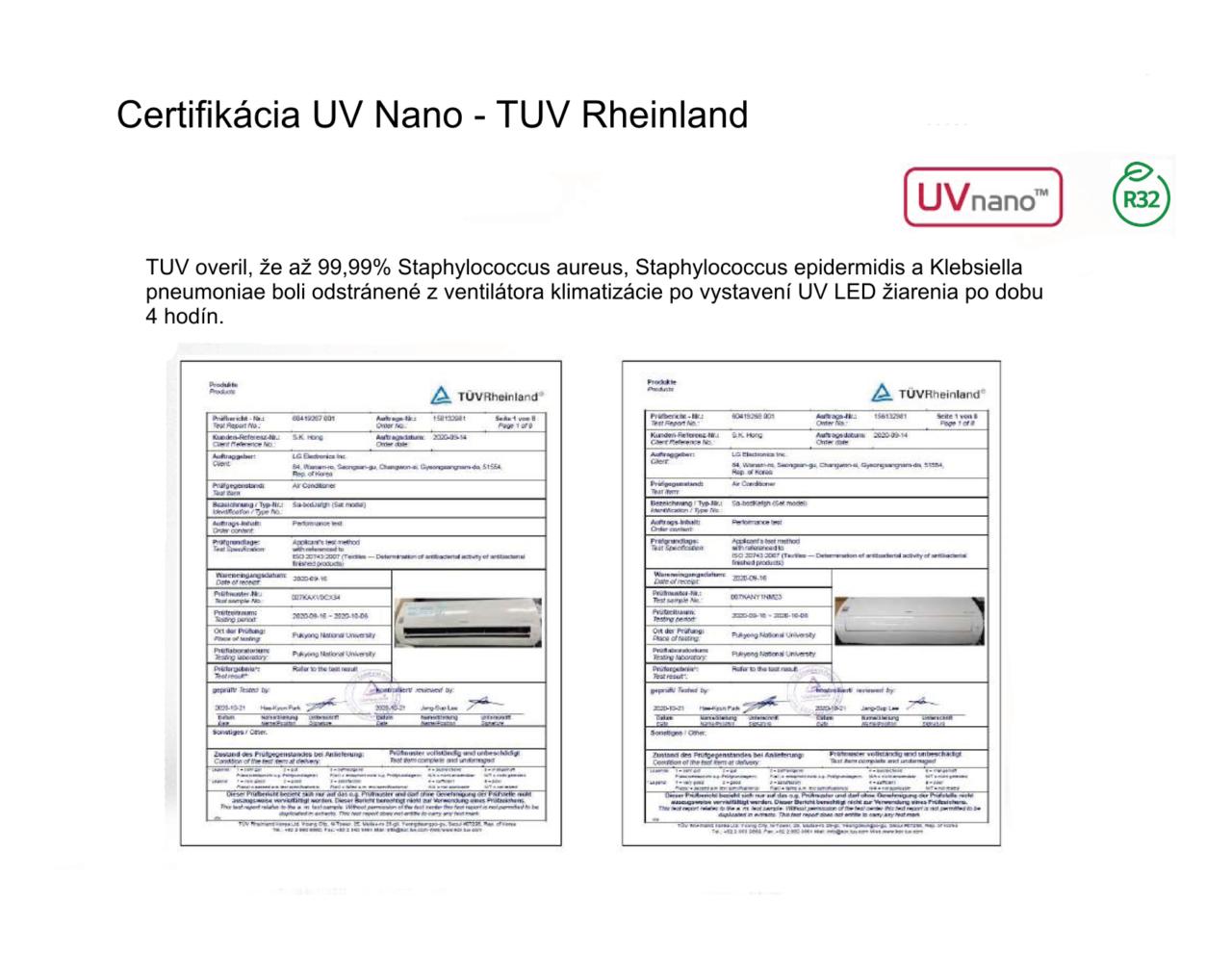 TUV certifikácia nv