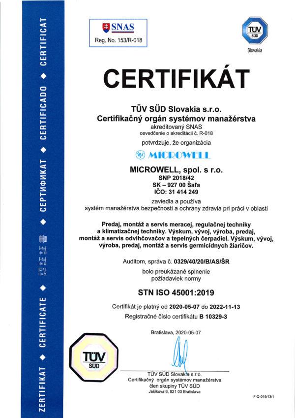 Sk ISO 45001 2020 2022 web